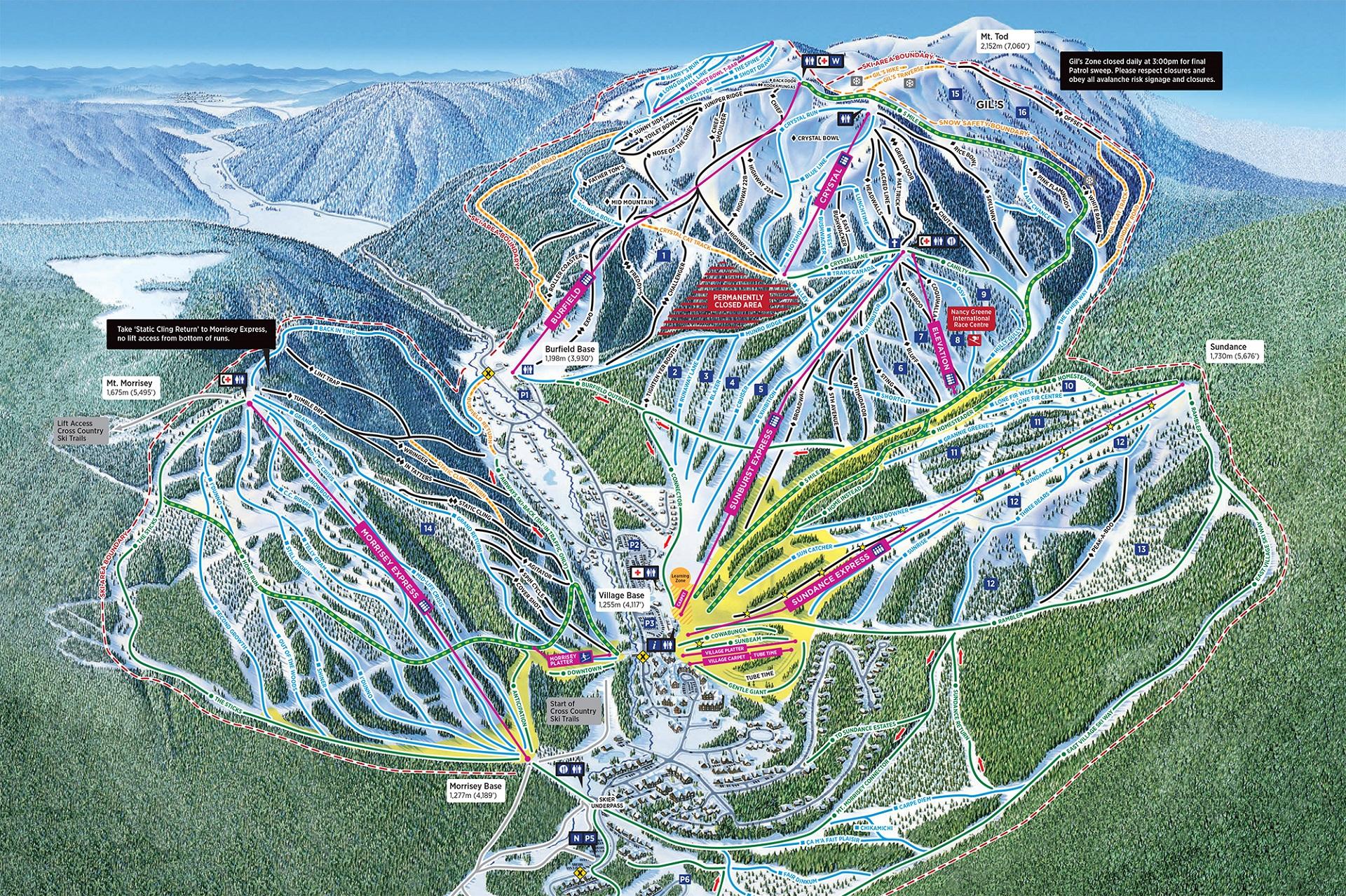 Domaine skiable de Sun Peaks