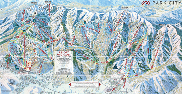 Domaine skiable de Park City / Canyons