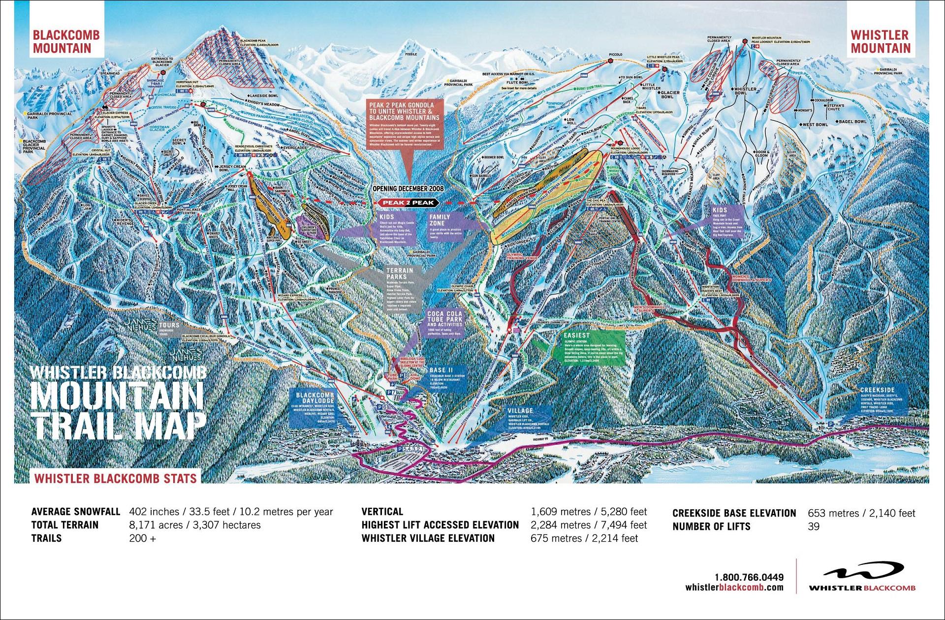 Domaine skiable de Whistler Blackcomb